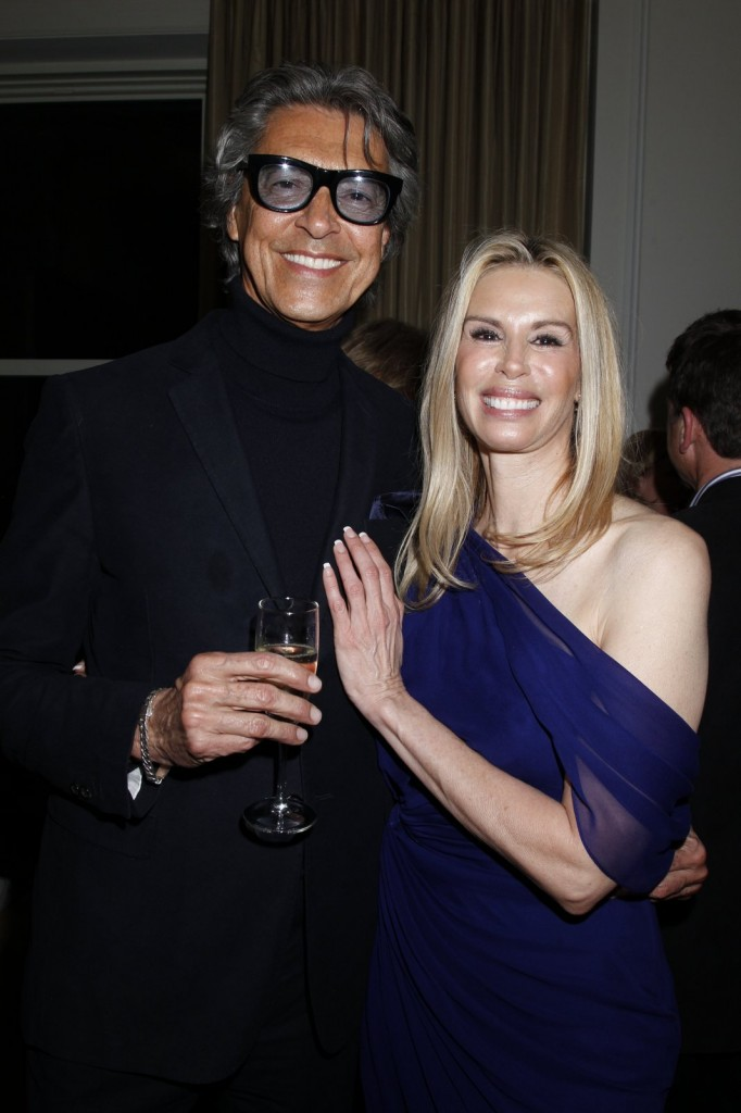 Tommy Tune and Patty Farmer.