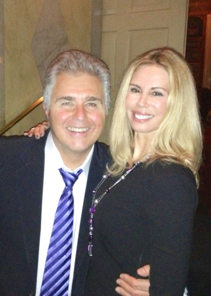 Steve Tyrell and Patty Farmer