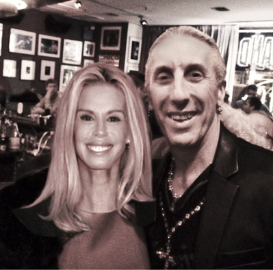 Dee Snider and Patty Farmer