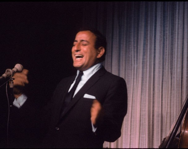 tony bennett performing at the playboy club