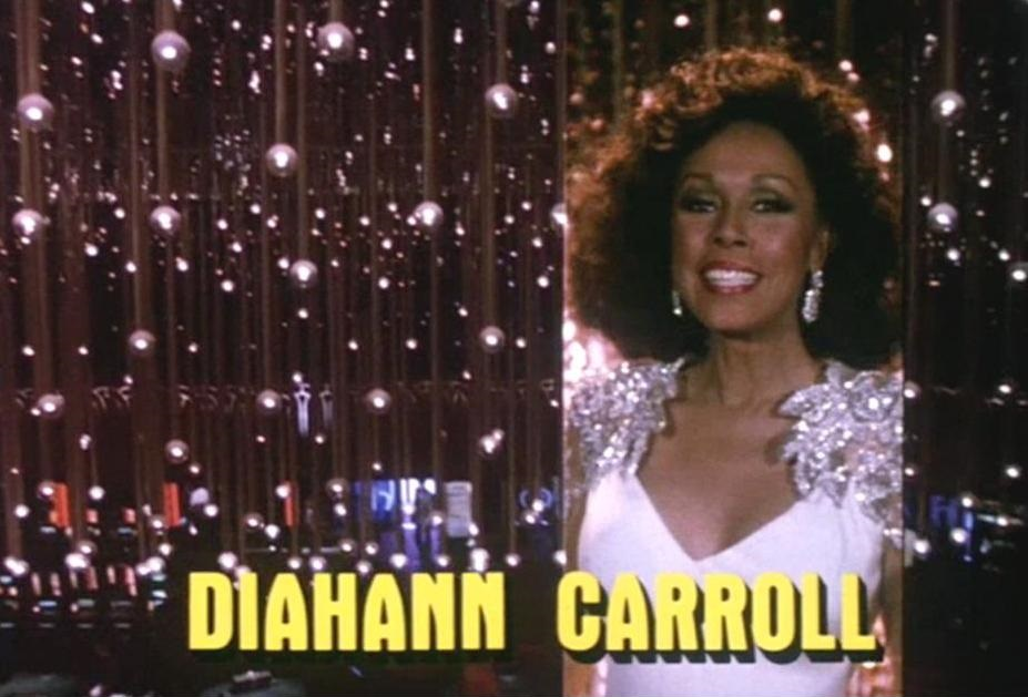 Diahann Carroll from the opening credits of Dynasty