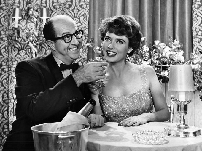 Phil Silvers Julie Wilson Bilko 1958 at the Copa