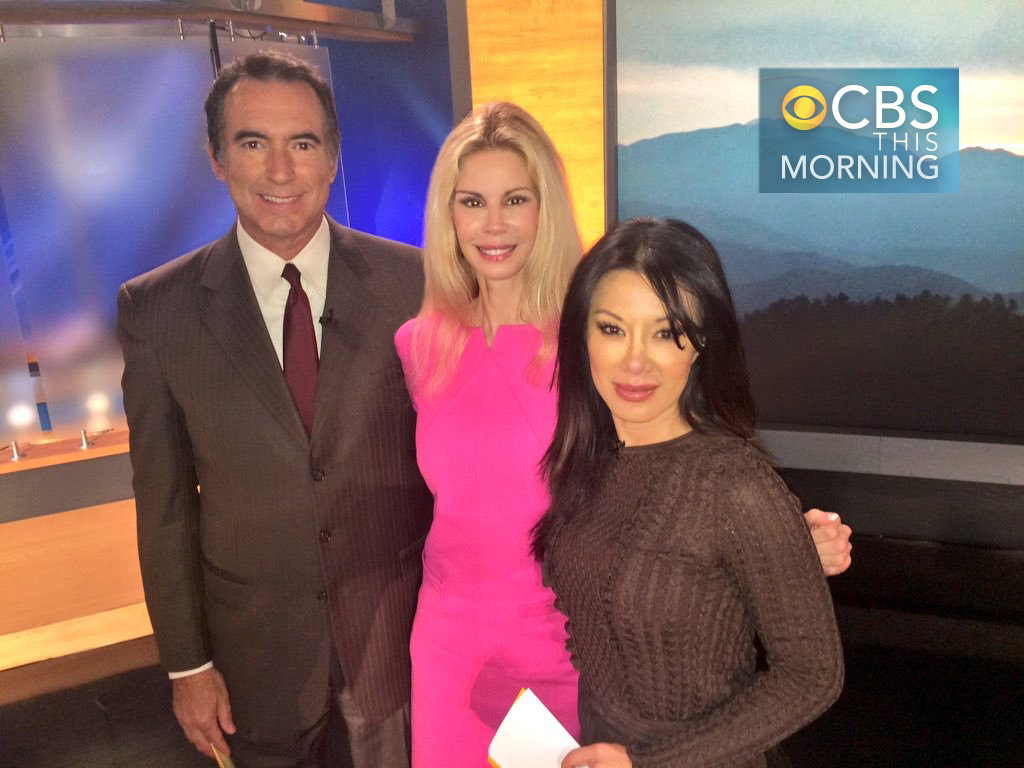 Rick Garcia, Patty, Sharon Tay on CBS Morning Show